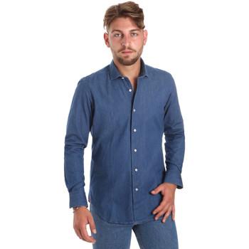 Oblečenie Muži Košele s dlhým rukávom Betwoin DENIM78 6635535 Modrá