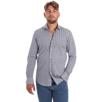 Oblečenie Muži Košele s dlhým rukávom Betwoin SELZ 6635535 Modrá