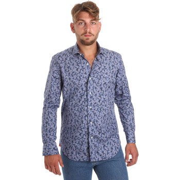 Oblečenie Muži Košele s dlhým rukávom Betwoin D066 6635535 Modrá