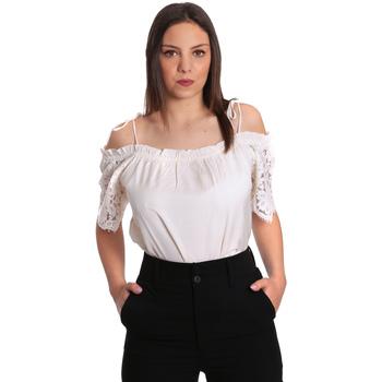Oblečenie Ženy Blúzky Gaudi 811FD45011 Béžová