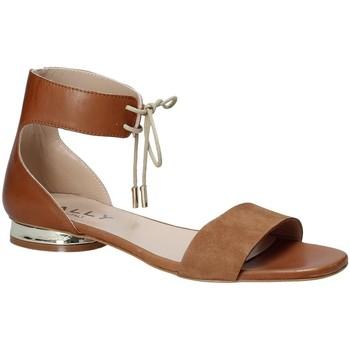 Topánky Ženy Sandále Mally 5826 Hnedá