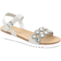 Topánky Ženy Sandále Grunland SB1582 Striebro