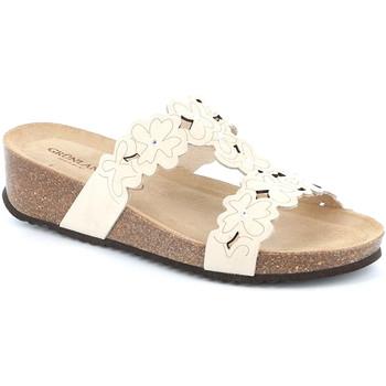 Topánky Ženy Šľapky Grunland CB2491 Biely