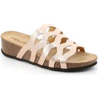 Topánky Ženy Šľapky Grunland CB2490 Béžová
