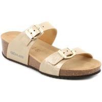 Topánky Ženy Šľapky Grunland CB2494 Béžová