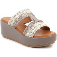 Topánky Ženy Šľapky Grunland CI2853 Béžová