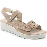 Topánky Ženy Sandále Grunland SA2580 Béžová
