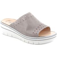 Topánky Ženy Šľapky Grunland CE0706 Šedá