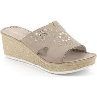 Topánky Ženy Šľapky Grunland CI1770 Béžová