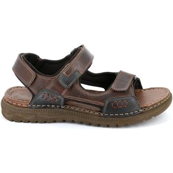 Topánky Muži Sandále Grunland SA2526 Hnedá