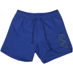 Oblečenie Muži Plavky  Ea7 Emporio Armani 902000 0P738 Modrá