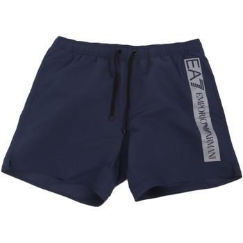 Oblečenie Muži Plavky  Ea7 Emporio Armani 902000 0P732 Modrá
