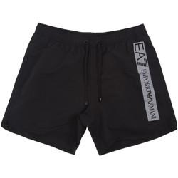 Oblečenie Muži Plavky  Ea7 Emporio Armani 902000 0P732 čierna