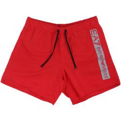 Oblečenie Muži Plavky  Ea7 Emporio Armani 902000 0P732 Červená