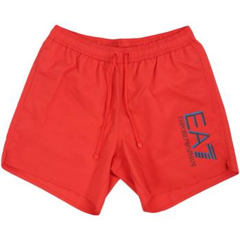 Oblečenie Muži Plavky  Ea7 Emporio Armani 902000 0P738 Červená