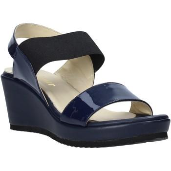Topánky Ženy Sandále Esther Collezioni ZB112 Modrá