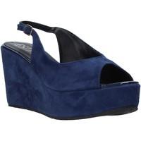 Topánky Ženy Sandále Esther Collezioni ZC 042 Modrá