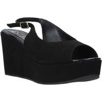 Topánky Ženy Sandále Esther Collezioni ZC 042 čierna
