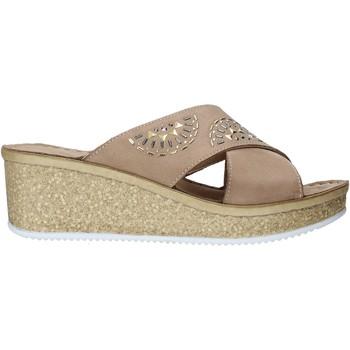 Topánky Ženy Šľapky Grunland CI1771 Béžová