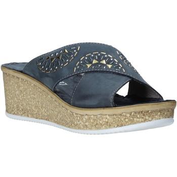 Topánky Ženy Šľapky Grunland CI1771 Modrá