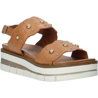 Topánky Ženy Sandále Grunland SA2545 Hnedá