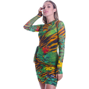 Oblečenie Ženy Krátke šaty Versace D2HVB495S0782983 čierna