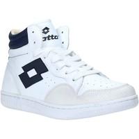 Topánky Muži Členkové tenisky Lotto L56883 Biely