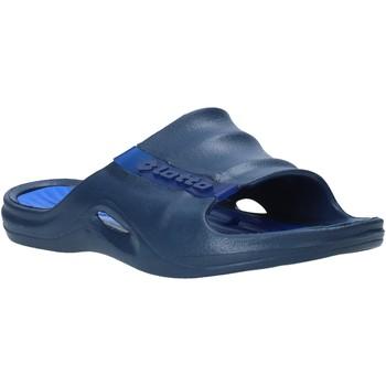 Topánky Muži športové šľapky Lotto L49342 Modrá
