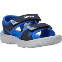 Topánky Deti Sandále Lotto L55098 Modrá