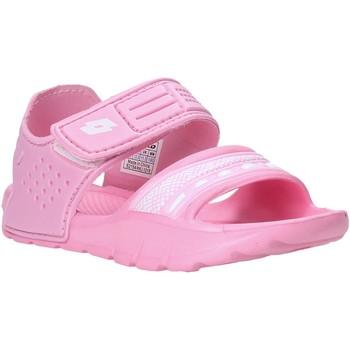 Topánky Dievčatá Sandále Lotto L52298 Ružová
