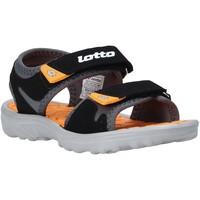 Topánky Deti Sandále Lotto L55098 čierna