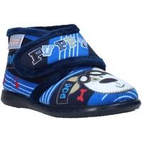 Topánky Deti Papuče Grunland PA0623 Modrá