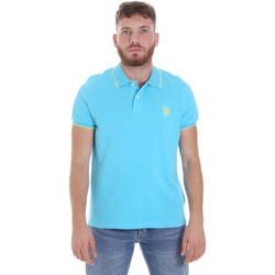 Oblečenie Muži Polokošele s krátkym rukávom U.S Polo Assn. 58561 41029 Modrá