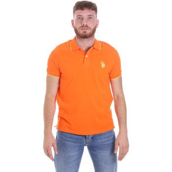 Oblečenie Muži Polokošele s krátkym rukávom U.S Polo Assn. 58561 41029 Oranžová