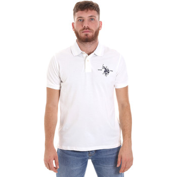 Oblečenie Muži Polokošele s krátkym rukávom U.S Polo Assn. 55959 41029 Biely