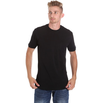 Oblečenie Muži Tričká s krátkym rukávom Les Copains 9U9010 čierna