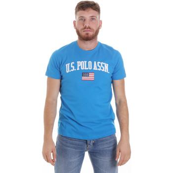 Oblečenie Muži Tričká s krátkym rukávom U.S Polo Assn. 57117 49351 Modrá