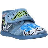 Topánky Deti Papuče Grunland PA0628 Modrá