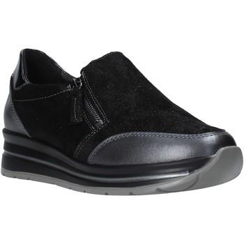 Topánky Ženy Slip-on Grunland SC4979 čierna