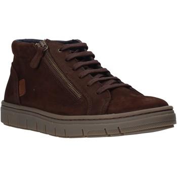 Topánky Muži Členkové tenisky Grunland PO1717 Hnedá