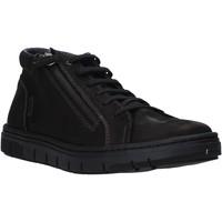 Topánky Muži Členkové tenisky Grunland PO1717 čierna