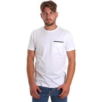 Oblečenie Muži Tričká s krátkym rukávom Antony Morato MMKS01798 FA100212 Biely