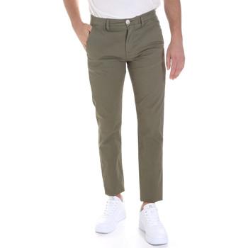 Oblečenie Muži Nohavice Chinos a Carrot Sseinse PSE558SS Zelená