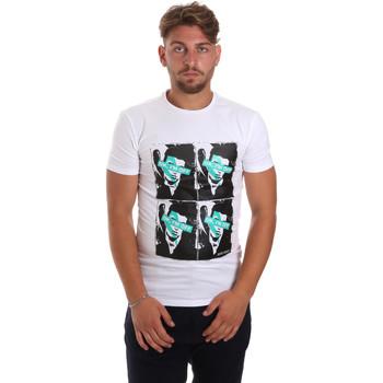 Oblečenie Muži Tričká s krátkym rukávom Antony Morato MMKS01743 FA120001 Biely