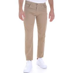 Oblečenie Muži Nohavice päťvreckové Les Copains 9U3022 Béžová