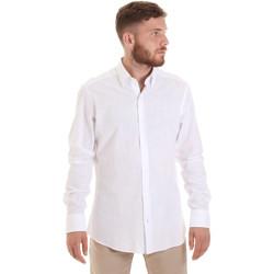 Oblečenie Muži Košele s dlhým rukávom Les Copains 20P.689 P700SL Biely