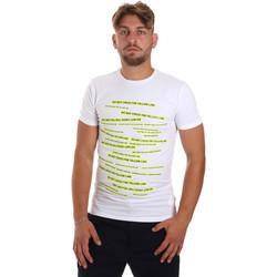 Oblečenie Muži Tričká s krátkym rukávom Antony Morato MMKS01749 FA120001 Biely