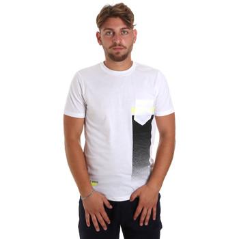 Oblečenie Muži Tričká s krátkym rukávom Antony Morato MMKS01794 FA100189 Biely