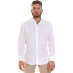 Oblečenie Muži Košele s dlhým rukávom Les Copains 000.076 P3196 Biely