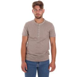 Oblečenie Muži Tričká s krátkym rukávom Antony Morato MMKS01725 FA100139 Hnedá